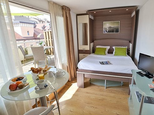 Studio apartments Privilodges Annecy