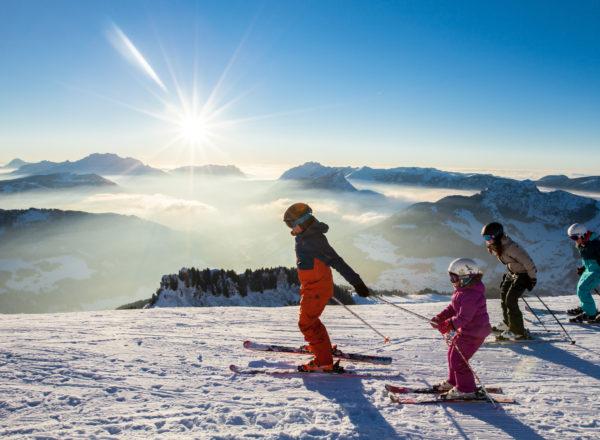 Séjour alpin en famille
