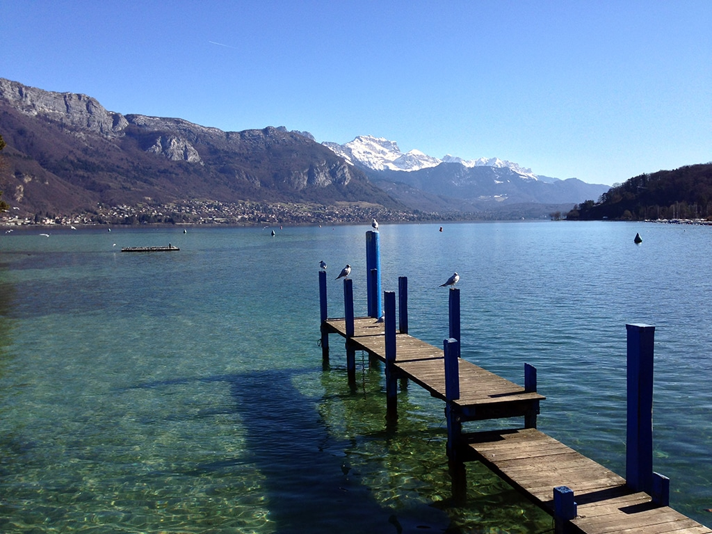 The international Lake Annecy marathon