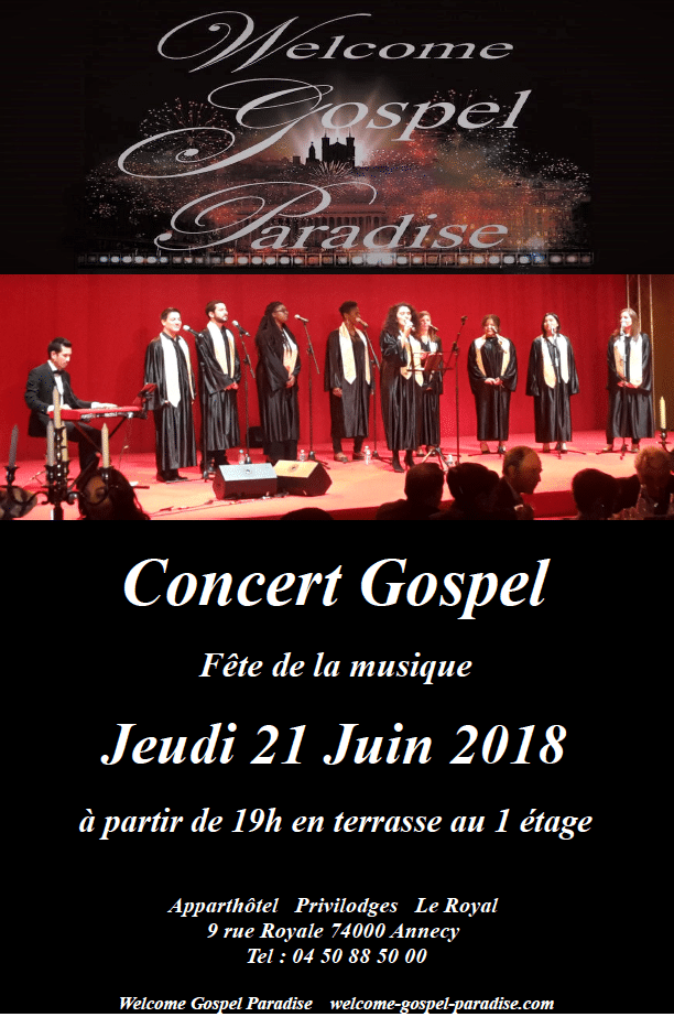 Gospel Concert for Music Day