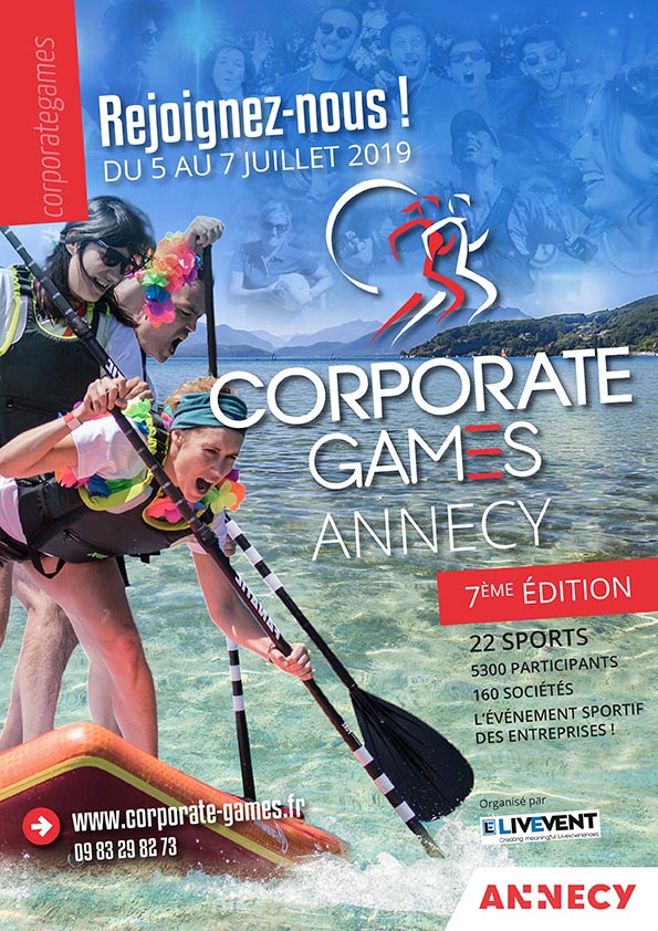 Corporate Games Annecy 2019