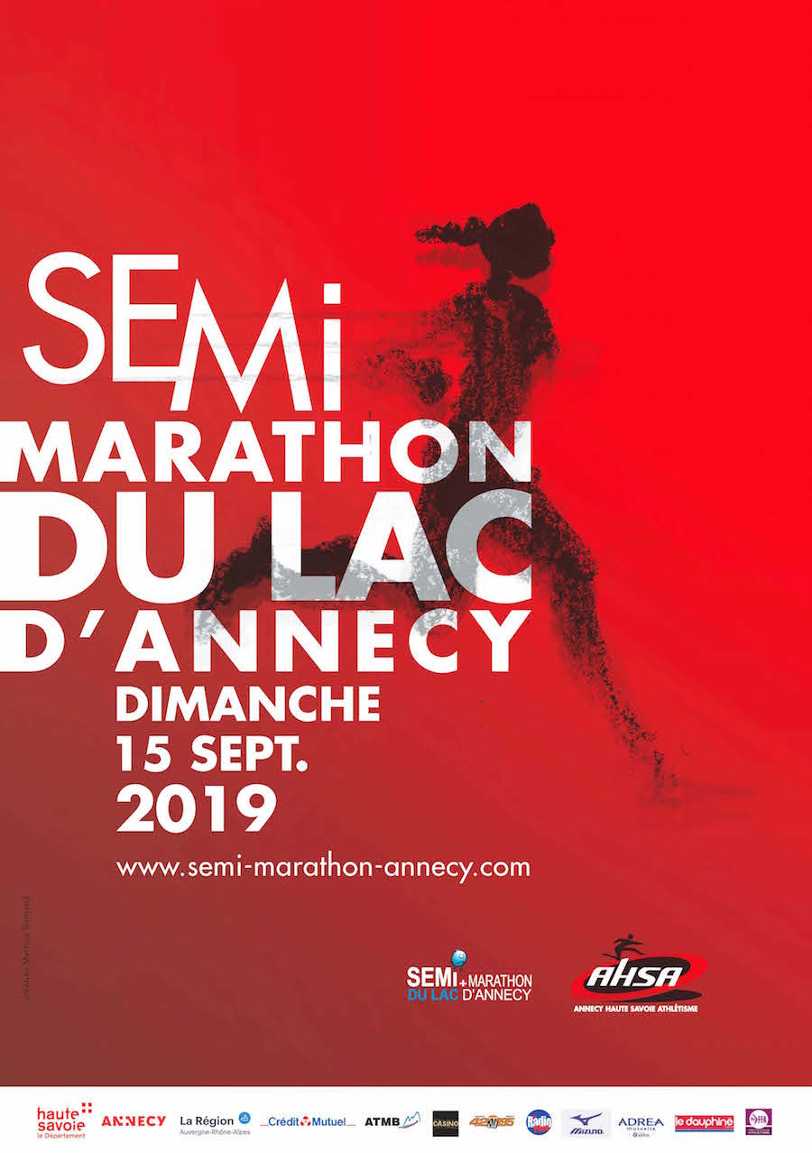 The Annecy Lake half-marathon 2019