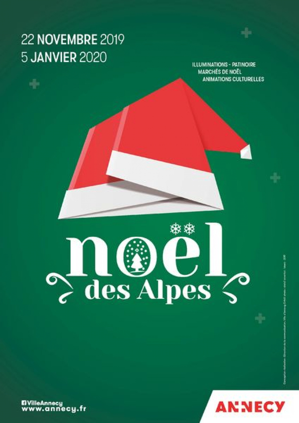 Annecy Christmas market 2019