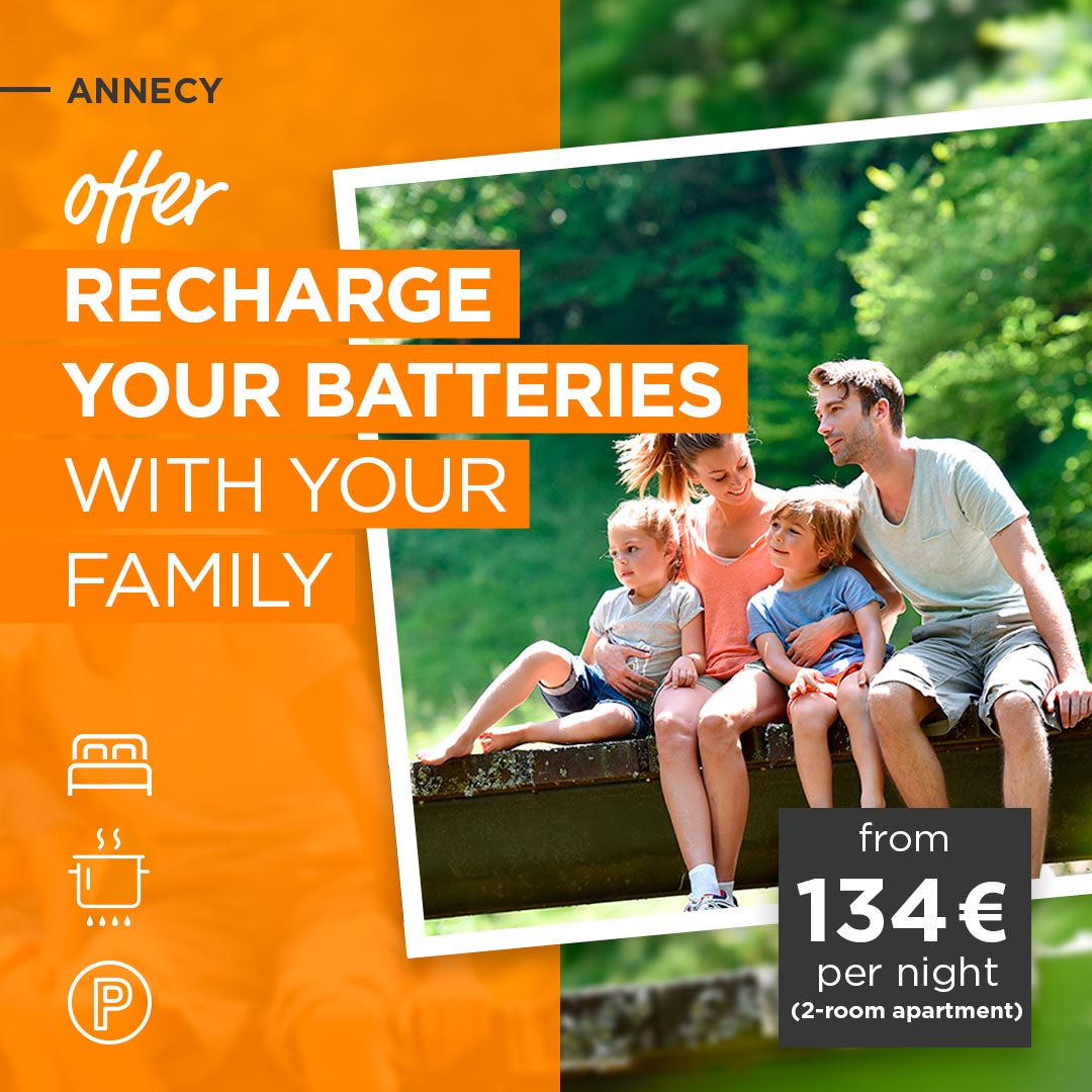 Recharge your batteries with your family