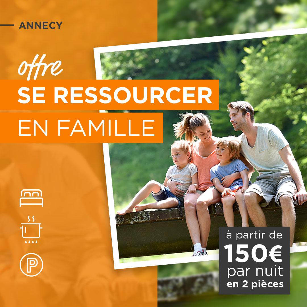Se ressourcer en famille